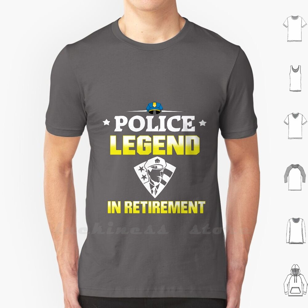 Police Officer Cop Retirement Pensioner Police T Shirt Print For Men Women Cotton New Cool Tee Police Pensioner Cop Police