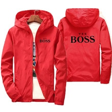 2021 new spring and summer new jacket men's street windbreaker hoodie zipper thin jacket men's casua