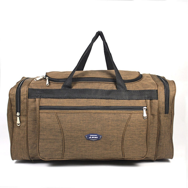 Large travel bags 70cm sport Duffle Bags Female Overnight Carry on Luggage bags men Waterproof Oxfor