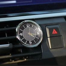 Car Clock Ornaments Auto Watch Air Vents Outlet Clip Decoration Auto Dashboard Time Display Clock In