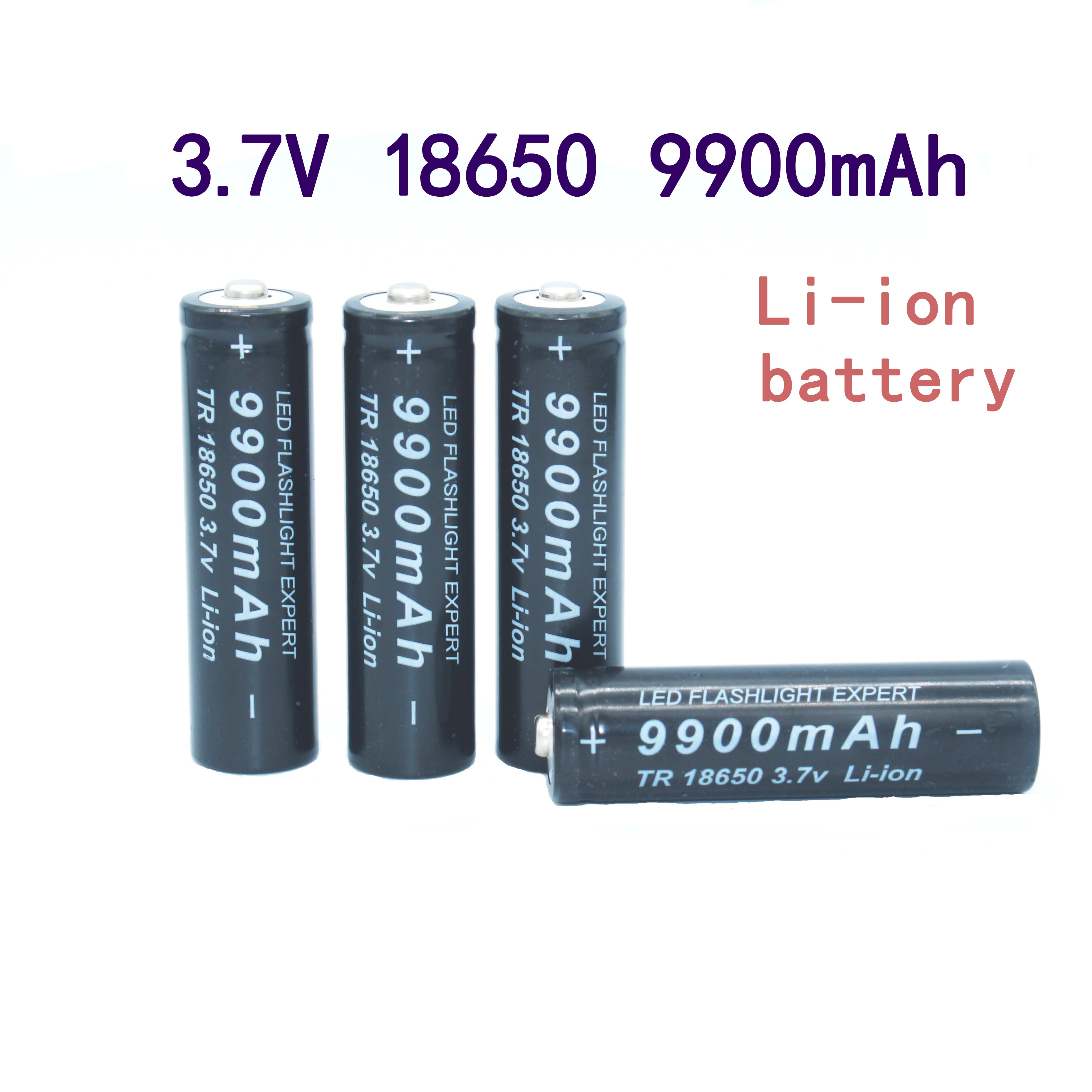 18650 bateria de alta calidad 9900 mah 3,7 v 18650 baterías de...