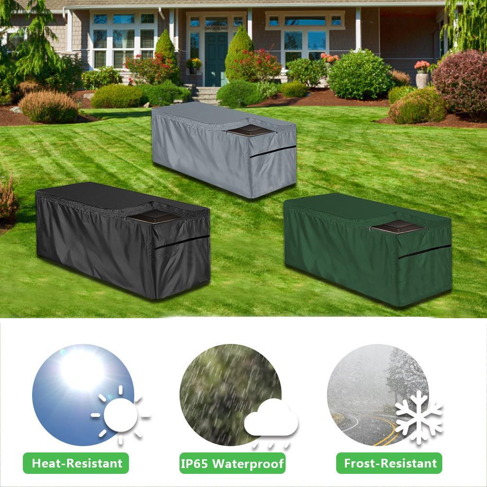 Categoria industrial abcdossel peso saco pátio ao ar livre deck caixa de armazenamento gabinete à prova de poeira impermeável e dustproof capa deck box c