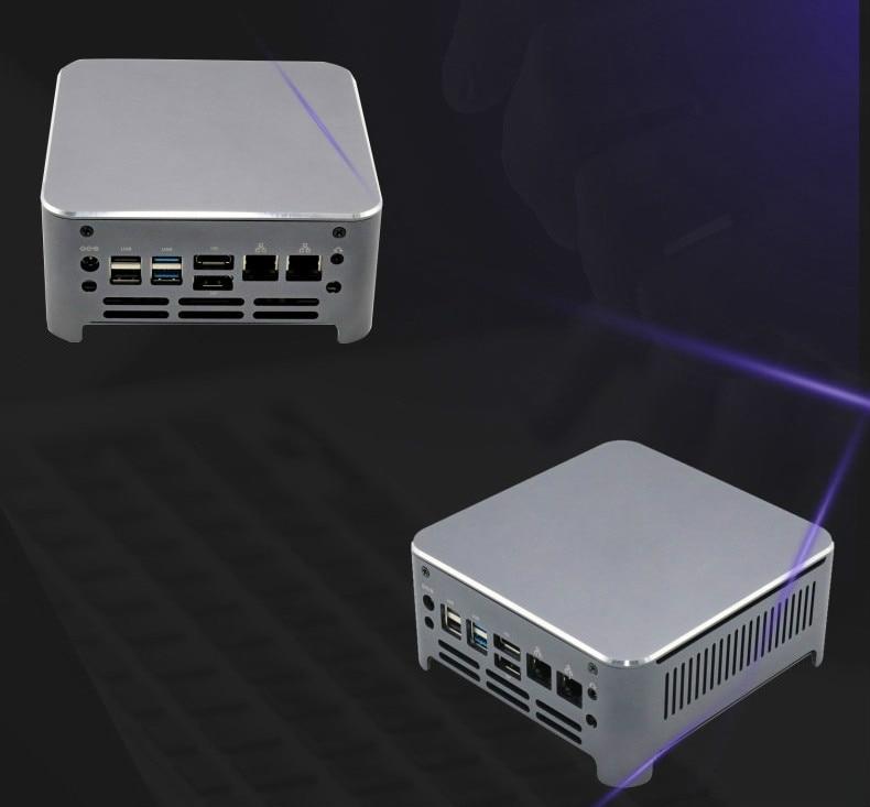 10th Gen Core Mini PC I5 8300H I7 8750H I9 9980HK I9 10980HK Windows 10 Dual Network Mini Host Porta
