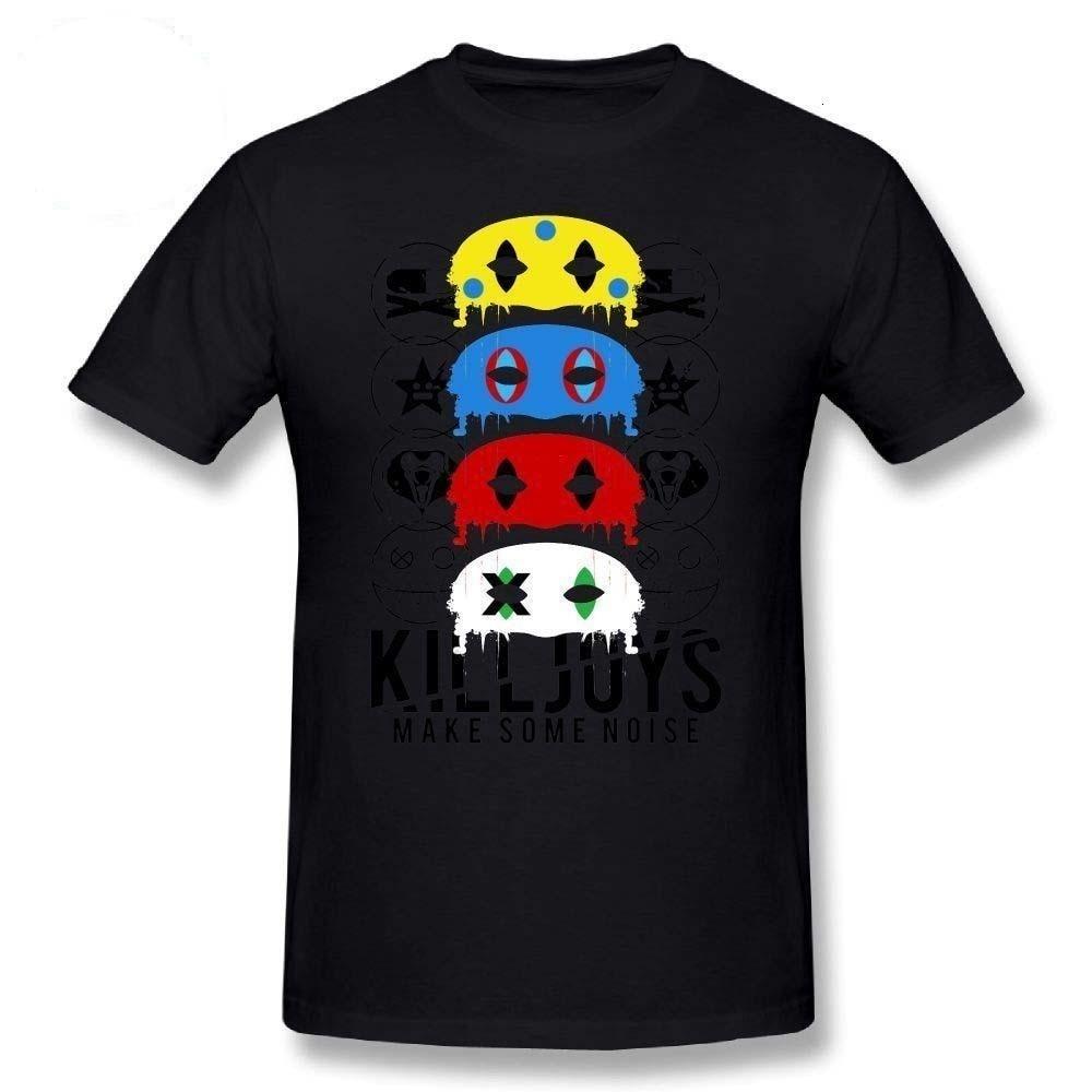 Midnite star my chemical romance t-shirt homem desenhos animados imprimir killjoys, fazer algum barulho! T camisa mcr básico camisa curta-sle