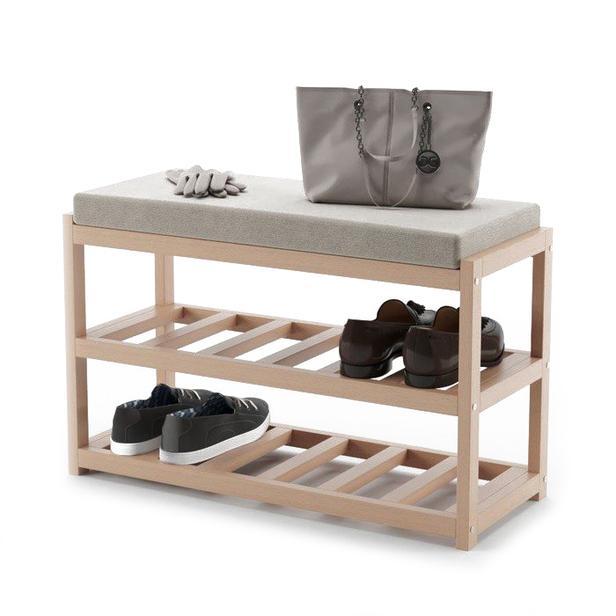Обувные шкафы обувной табурет обувной стеллаж деревянный обувной счетчик стойки органайзер для обуви вешалка для входа в дорожный склад
