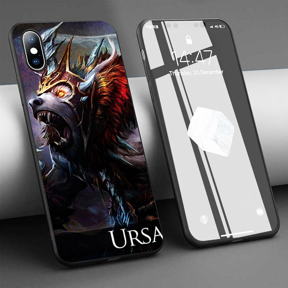 Coque DOTA 2 URSA En Silicone Souple pour iPhone 11 Pro Max X 5S 6 6S XR XS Max 7 8 plus Housse de Téléphone