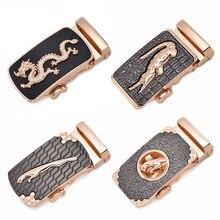 Boucles de ceinture en alliage pour hommes   Boucle automatique, Unique, Plaque de 3.5cm, accessoires pour vêtements dhommes, g12540