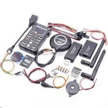 Pixhawk PX4 PIX 2.4.8 contrôleur de vol 32 bits + GPS M8N + radiotélémétrie 3DR 100/500MW 433 Mhz/915 Mhz + USB rvb + OLED OSD