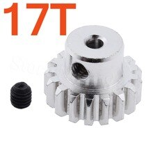 For WLtoys A959 RC Car Parts Metal 17T Motor Pinion Gear Teeth 0.7 Module