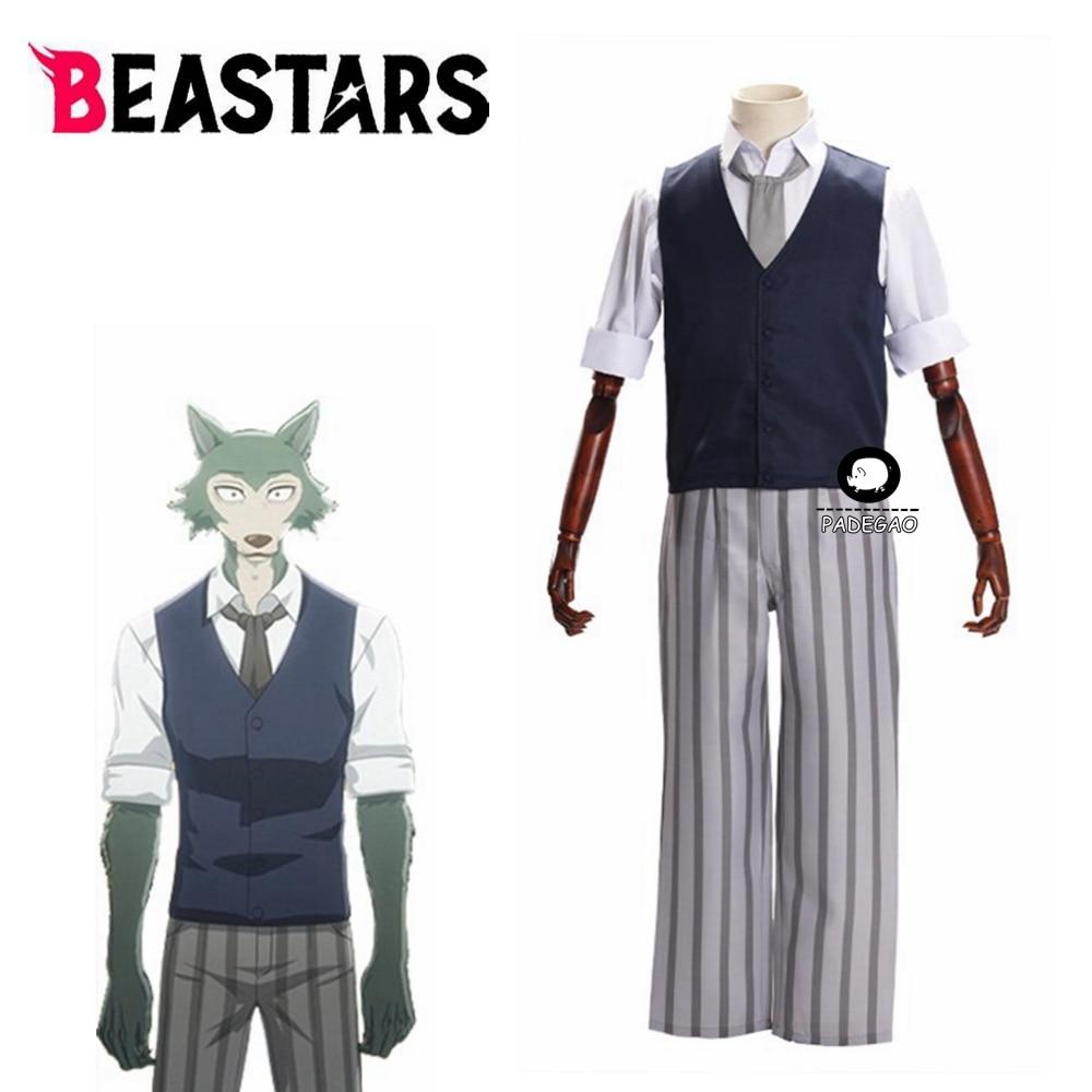 New Anime Beastars Legoshi Cosplay Custome Halloween Costumes for Men