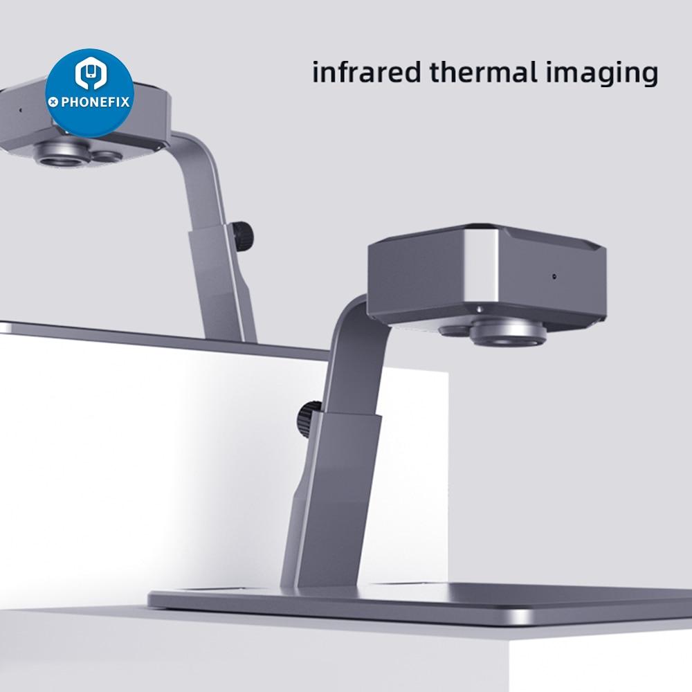 P10 IRepair RC10 Infrared Thermal Imaging Camera PCB Fault Analyzer for Mobile Phone Motherboard Repair PC Intelligent Analysis