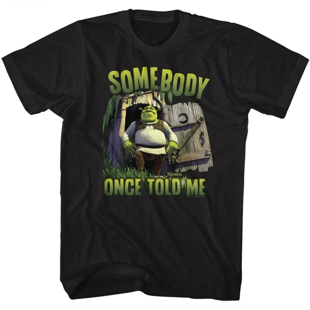Shrek alguém licenciado adulto t camisa masculina mulher streetwear topos camiseta 100% algodão 7 cores
