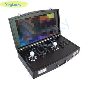 Image 5 - Новый оригинальный мини джойстик Pandora Box DX 3000 в 1, аркадный джойстик с поддержкой 2 игроков, компьютерные Проекторы fba mame ps1, есть 3D игры