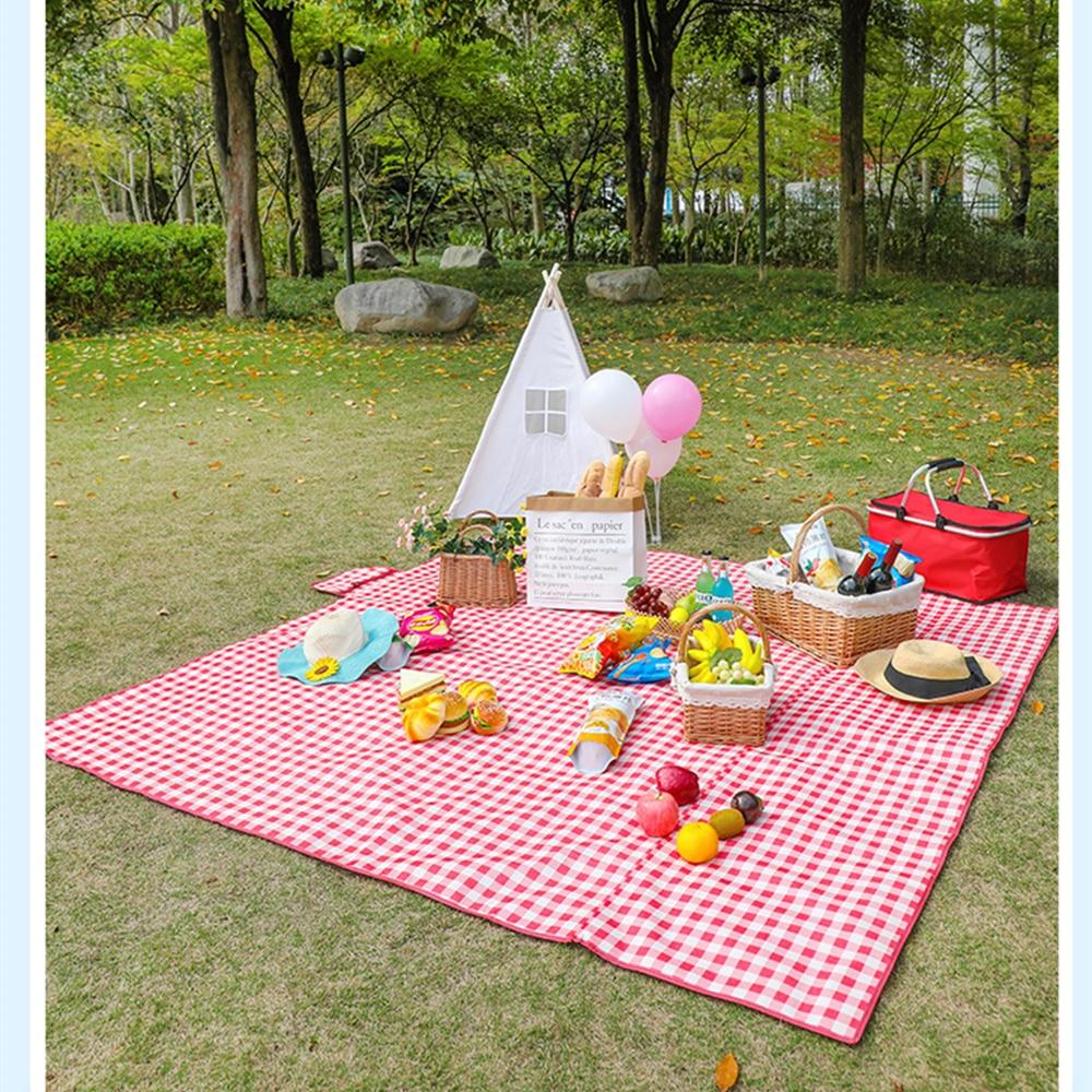 De Picnic portátil alfombrilla para playa esterilla de playa resistente al agua de la alfombra colchón pícnic al aire libre Camping carpa Mat varios colores