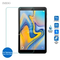 for samsung galaxy tab a 8 0 2018 tempered glass screen protector 9h safety protective film on taba 8 sm t387 t 387