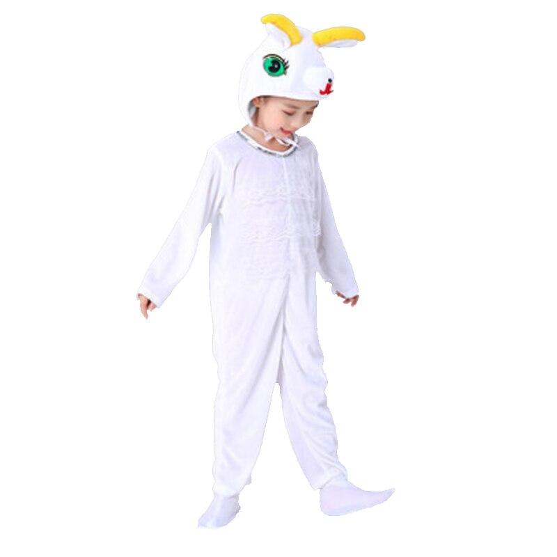 Children Long Sleeves Sheep Animals Cosplay Costumes Kids Kindergarten Jumpsuit Halloween Christmas Party School Performance