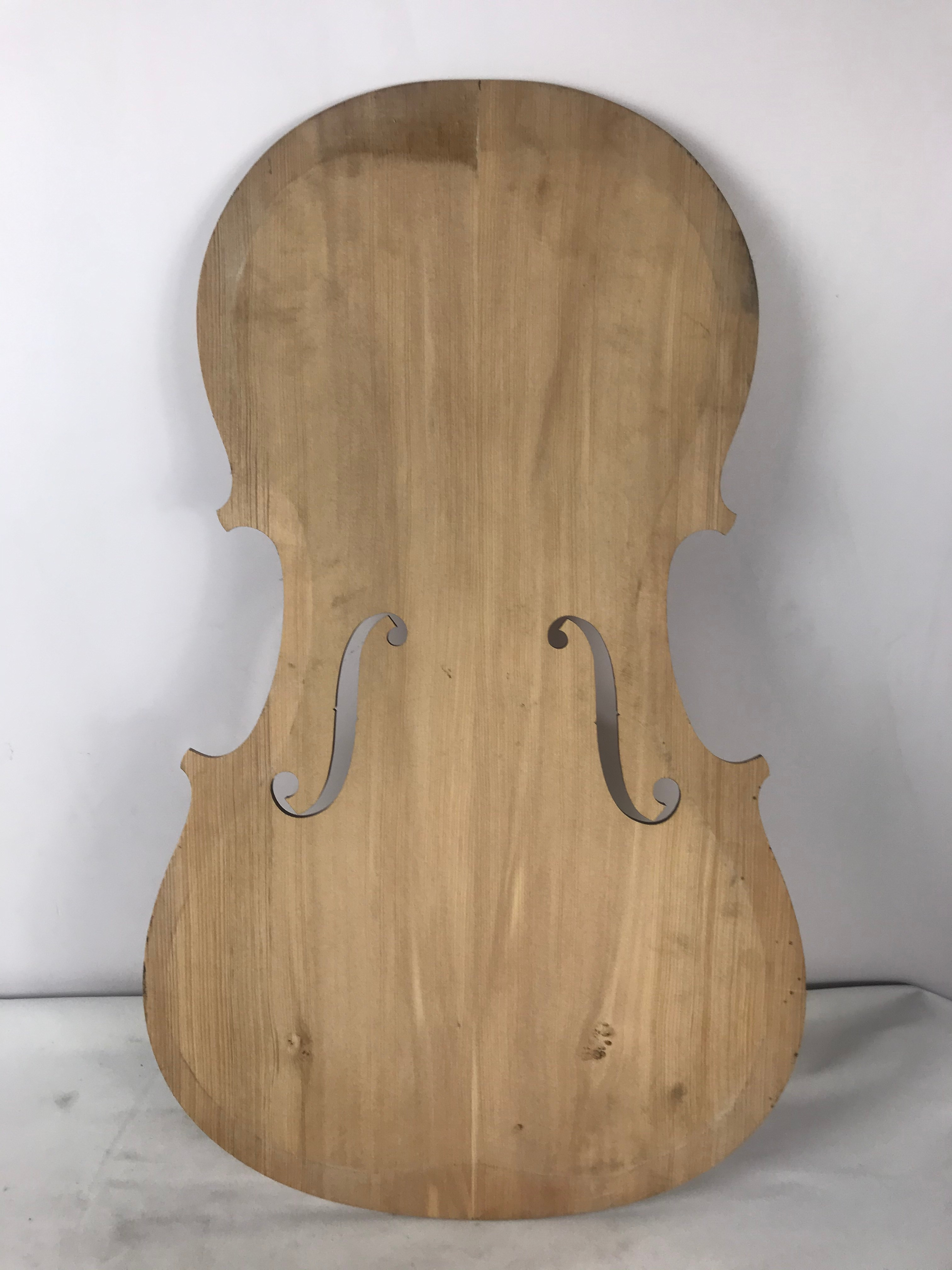 Art Drawing on Cello Traditonal Chinese Realistic Painting 1/4 Cello Panel Hand Painting on Spruce Wood enlarge