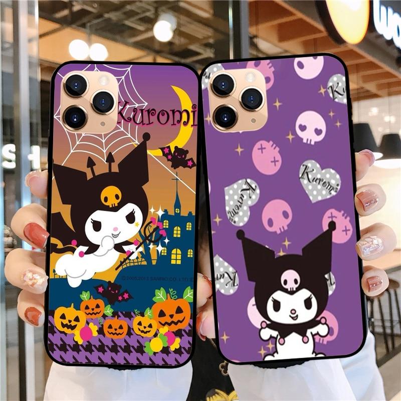 Мягкий силиконовый чехол для телефона Kawaii koomi, для iPhone 11Pro, Max, 11, SE2020, 5, 6, 7, 8Plus, XR, XS, MAX, X10, Забавный чехол