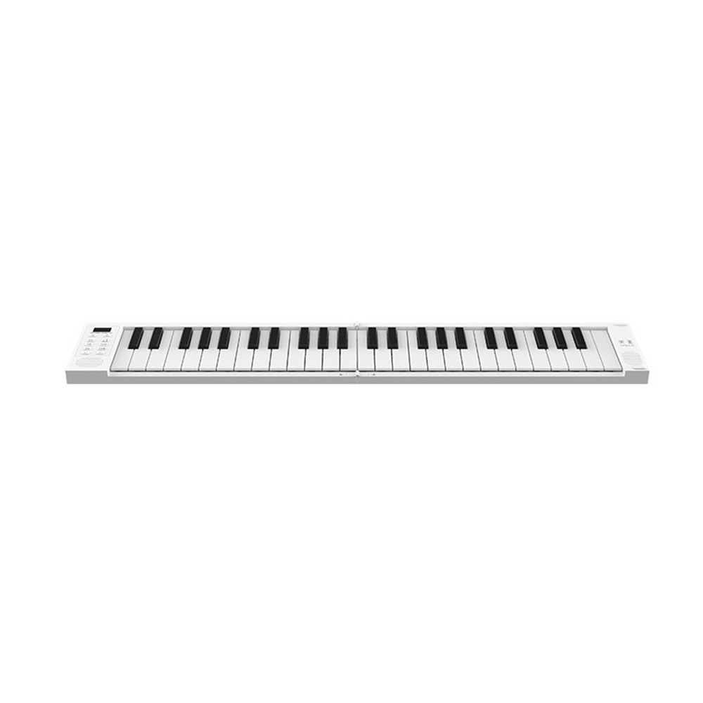 49 Key fold outdoor portable piano electronic piano keyboard midi keyboard for girl biginner collegue piano Built-in Battery enlarge
