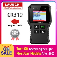 Launch Creader 319 OBD2 Scanner Auto Code Reader Obdii Obd 2 Scan Tool Check Engine Fault Code Lezen Cr319 CR3001 creader 3001