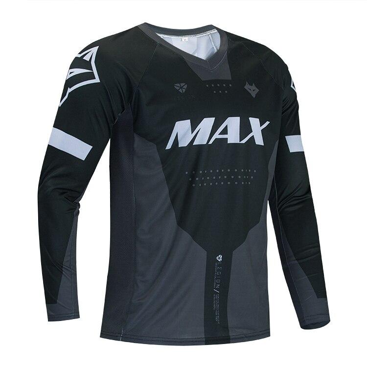 Camisetas para ciclismo de descenso 2020, ropa de carreras DH FOX, camiseta negra larga para ciclismo de montaña, camisetas BMX