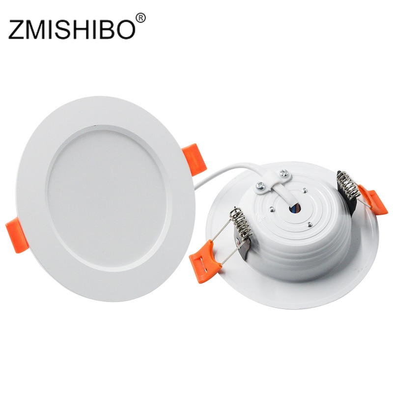 ZMISHIBO-proyectores LED para techo, lámpara empotrada, 3000K/4000K/6000K, 3W, 5W, 7W, 9W, 12W,...