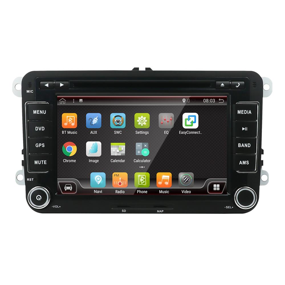 """7 """"Android 9,0 Auto Radio Für VW 2 Din 8 core 4 + 64GB Auto Multimedia-Player Audio canbus Stereo octa core 1024*600"""