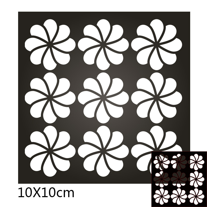 100*100mm lace square new Metal Cutting Dies Scrapbooking DIY Album Paper Card Craft Embossing stencil