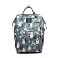 fashion mummy maternity nappy bag designer nursing bag for baby care bear large capacity baby bag travel backpack