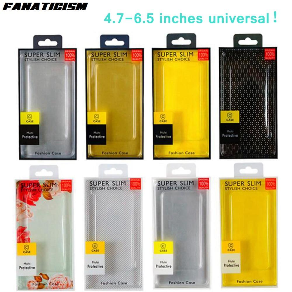 صندوق تغليف عالمي PVC ، 300 قطعة ، لهاتف iphone 11 pro ، XR ، XS Max ، 6 ، 7 ، 8 Plus ، 4.7-6.5 بوصة ، حزمة البيع بالتجزئة