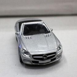 Novo 164 mini liga diecast metal veículo c-classe sl modelo de carro adulto crianças brinquedos presente coletar boutique decoração lembrança exibição