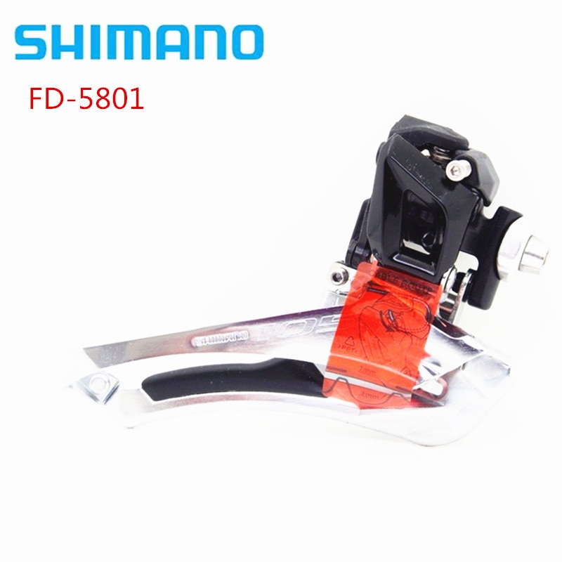 Shimano 105 FD-5801 2x11 velocidad 22s cambio frontal Braze On actualización Forupgrade para shimano 5800 Original MTB accesorios de bicicleta
