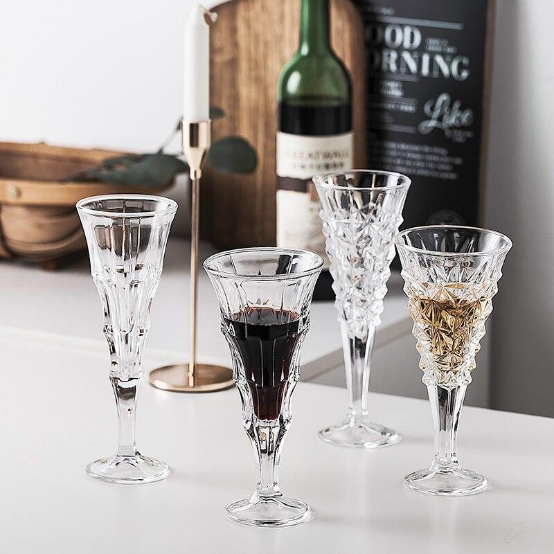Cóctel de Vino de cristal gafas de whisky conjunto para barman estilo...