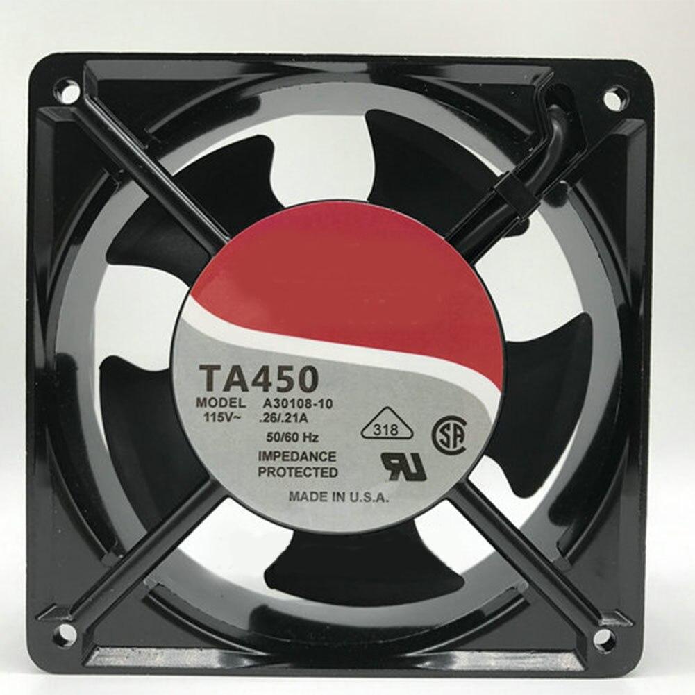 Для NIDEC ALPHA V TA450 A30108-10 115V 0.26A/.21 120*120*38 мм охлаждающий вентилятор