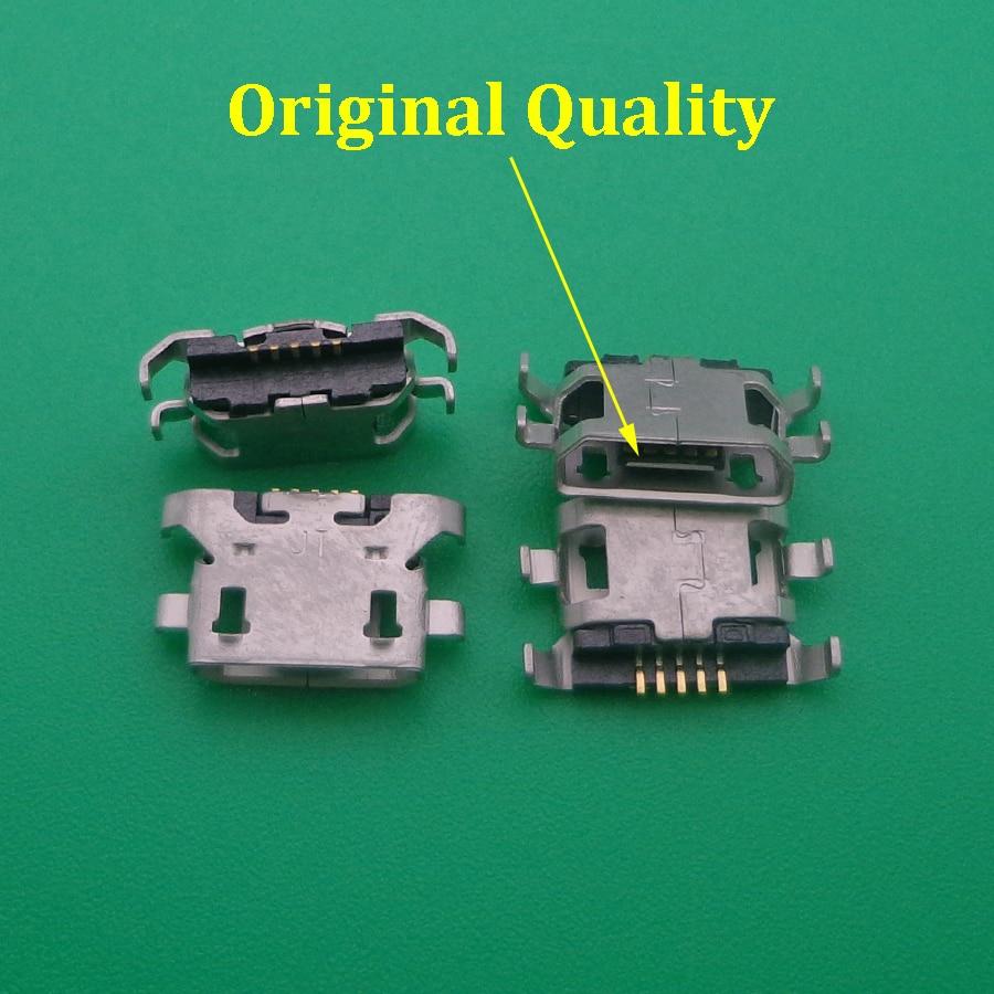 100 pçs micro mini usb porto de carregamento jack soquete conector para lenovo a319 a536 a6000 a6000t a6010 vibe a859 p2 p2c72