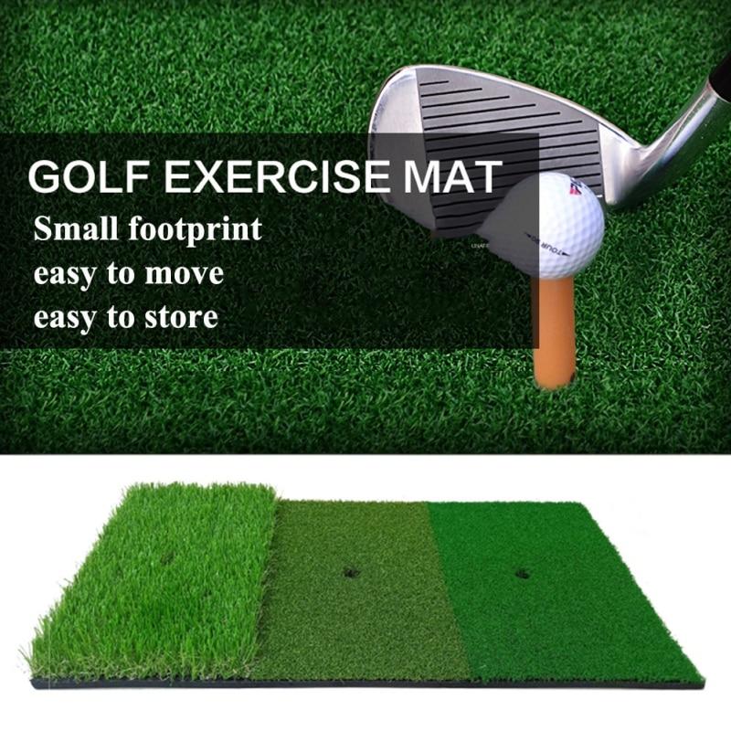 30*60cm Golf Training Mat Artificial Lawn Grass Rubber Pad Backyard Outdoor Golf Hitting Mat Golf Pr