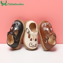 11.5-15.5cm Brand Cute Ears Cartoon Baby Shoes For Autumn,New Fashion Solid Strap Toddler Girls Boys