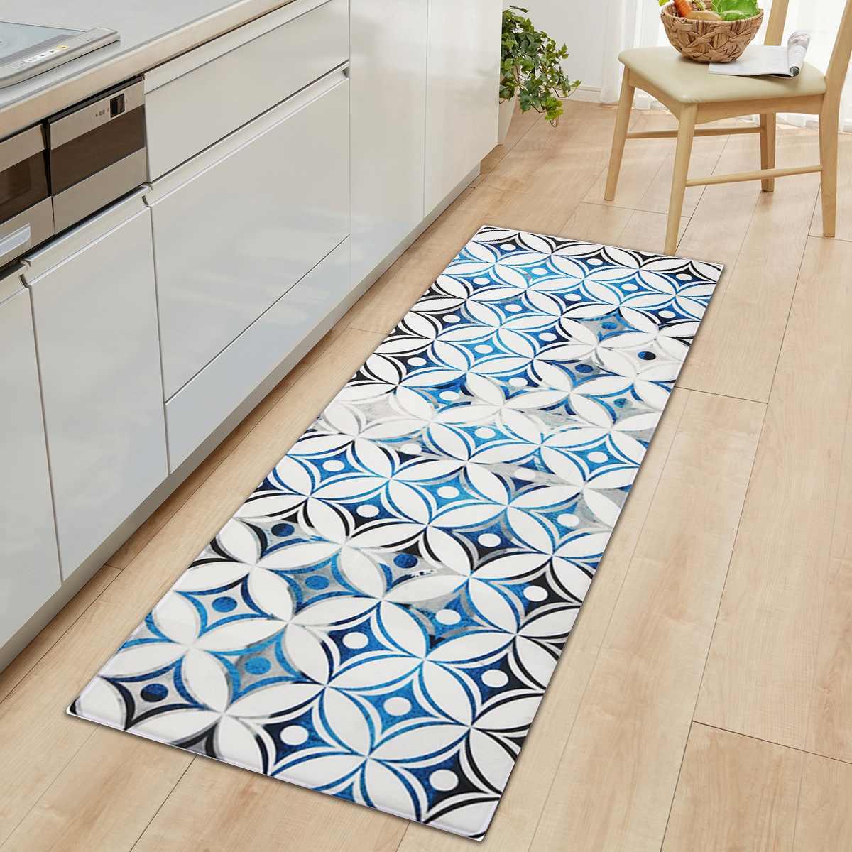 Dywaniki kuchenne skóra PVC maty podłogowe duża podstawa dywany wycieraczki sypialnia Tatami wodoodporna olejoodporne dywaniki kuchenne