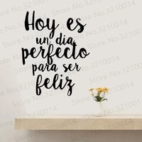 carved spanish phrase wall stickers vinyl for living room frase sticker quote wall art decal vinilos frases espa%c3%b1ol ru298