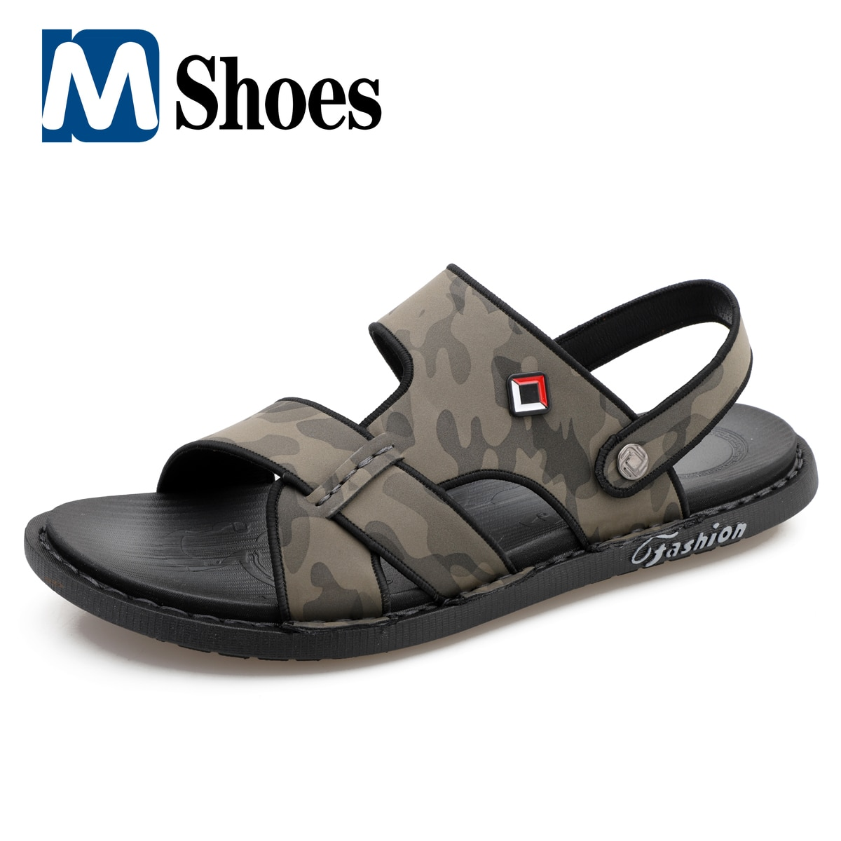 humtto summer men sandals 2021 breathable beach sandals for men's outdoor water mens hiking camping fishing climbing aqua shoes Summer Sandals for Men Flats Breathable Casual Shoes Wading Beach Slippers Mens Sandals Outdoor Sneakers Zapatos Para Hombre