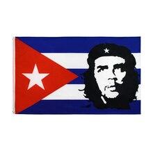 Johnin drapeau de cuba hero EI CHE Ernesto Guevara   Livraison gratuite 90x150cm
