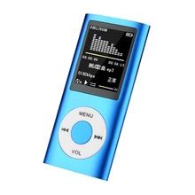 Hifi Mini Mp3 Player Music Sports Walkman with Earphone Fm Radio 1.8 Inch Tft Lcd Screen 16gb 32gb 6