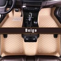 xiaoxiao car floor mats for audi tt 4seat 2008 2013 2014 custom leather foot pad interior full encirclement carpet accessories