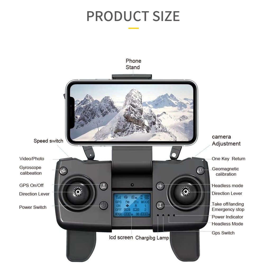 S8 5G WIFI RC Drone 4K Profesional RC Quadcopter Mini HD 6K Camera With Brushless Motor GPS FPV Foldable Drone Child Toys Plane enlarge