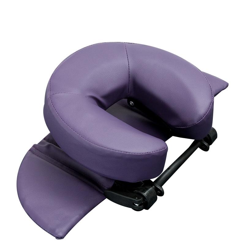 Casa massagem kit-luxo ajustável encosto de cabeça e rosto travesseiro/casa massagem beleza berço resto almofada para mesa e mesa