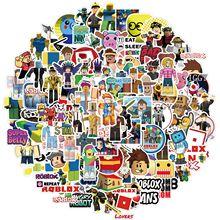 10/30/50/100pcs Cartoon Game Roblox Stickers Diy Graffiti Anime Sticker Kids Toy for Children Laptop