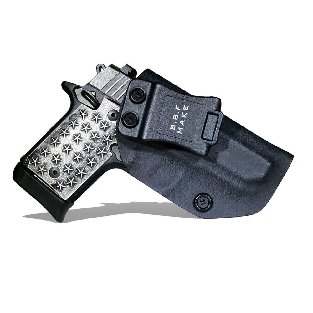 B.B.F Make IWB KYDEX кобура подходит Sig Sauer P938 пистолет кобура внутри скрытый переноски кобуры пистолетный мешок случае пистолеты аксессуары