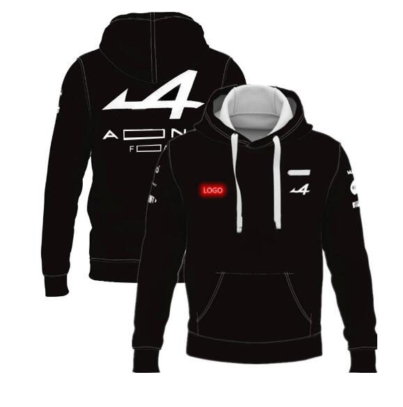 2021 new hot selling f1 racing hoodie car racing fans f1 team logo jacket with the same custom f1 jacket F1 racing jersey 2021 new F1 jacket, same style customization