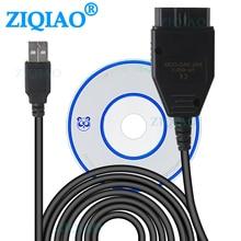 OBD2 USB кабель VAG-COM KKL 409,1 OBD 2 диагностический кабель USB сканер сканирующий инструмент для VW Audi Volkswagen Skoda Seat диагностические инструменты