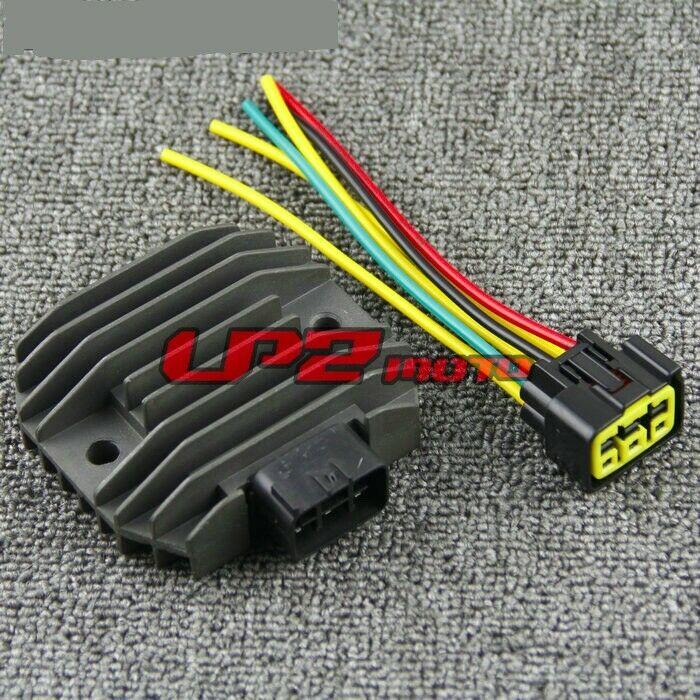 Regulador rectificador + enchufe para Kawasaki ER400 ER4N 11-13 Ninja 1000 ZX1000 11-16 EX400 Ninja 400 400R 11-17 VN900 Vulcano 06-17